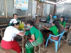 Emerging Women Leaders work with health department