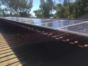 Another perspective of Phase 1 solar panel