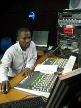 Brima Davies Runs the CTN Studio