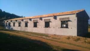 The construction of Ranomafana Lycee
