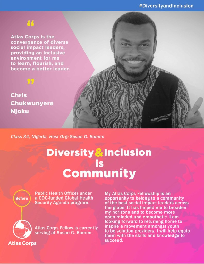 Atlas Corps: Celebrate Diversity & Inclusion