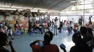 Our girls training program