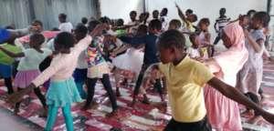 Kibera Ballet Dancers during training