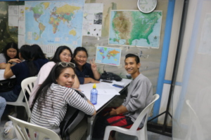 BEAM & Maejo students exchanging Thai at BEAM