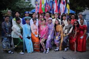Students Celebrating at BEAM's 10-Year Anniversary