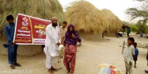 Goat being handed over to a Widow
