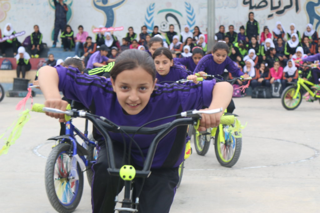Sports for Girls in Gaza: The Big Ride 2019
