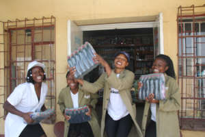 Jubilation in Epworth after a soap sale
