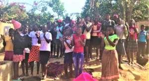 Epworth club members sing together