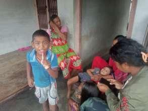 Family time in Sunsari
