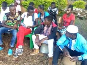 Reintegrated children get together