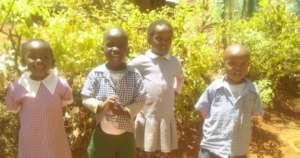Natasha and classmates