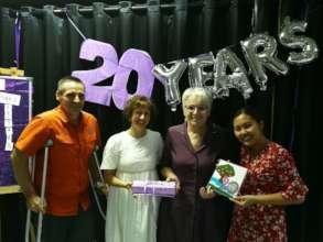 Tamar Leadership celebrating 20 years of Tamar