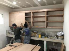 The Exam Room Taking Shape with Expert Carpentry!
