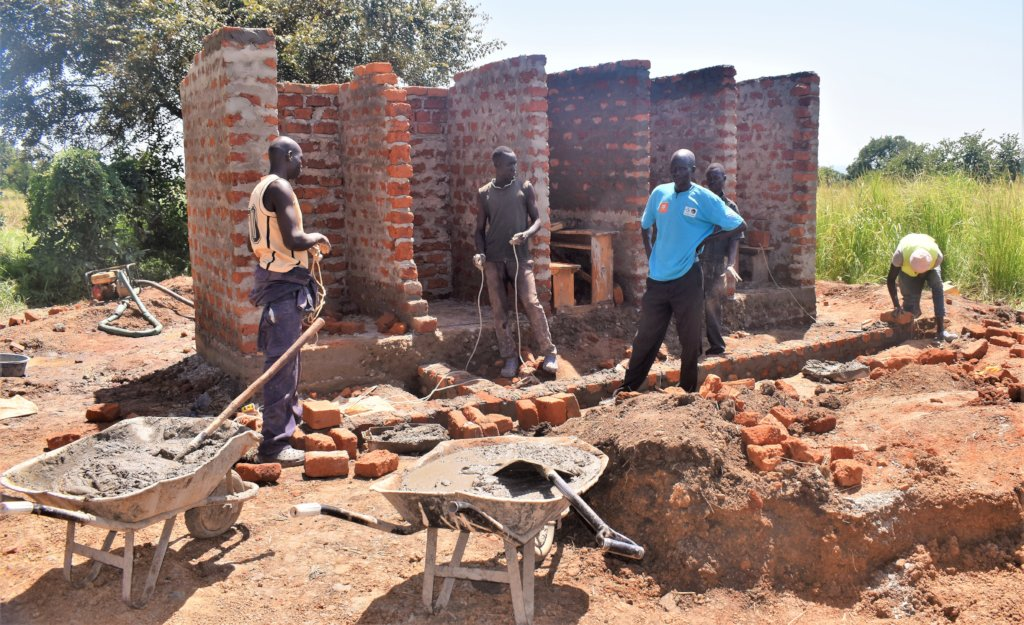 Build toilets for girl students in northern Uganda