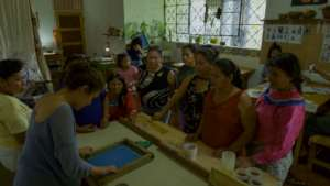 Kene Nete: sharing new skils with shipibo mothers
