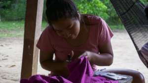 Sewing practice
