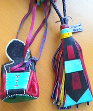 Tassel and purse