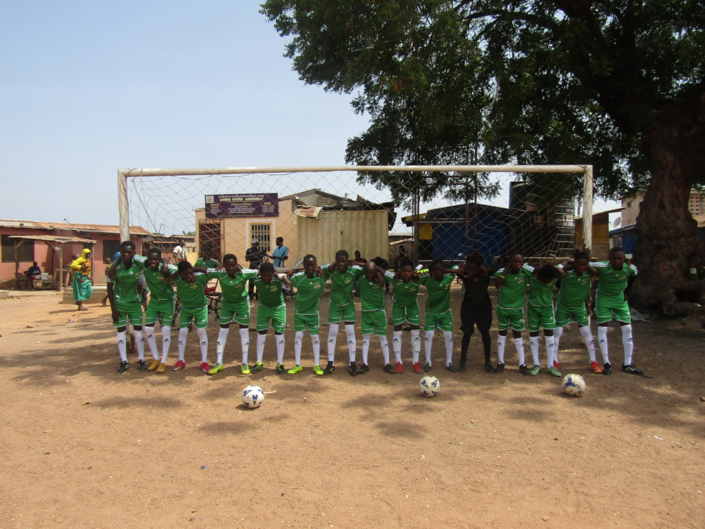 Help a Child in Africa attend School & Play Soccer