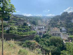 View of Gjirokaster Old City