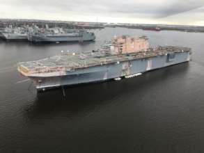 The former USS Nassau - FEB 2019
