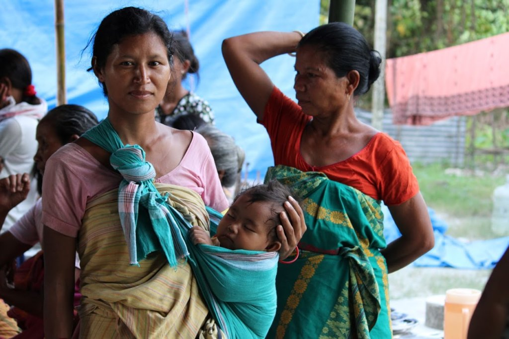 Assam Floods Relief Report and URGENT Appeal