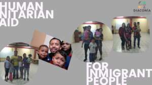 Humanitarian Aid for inmigrant people, Brena-Lima