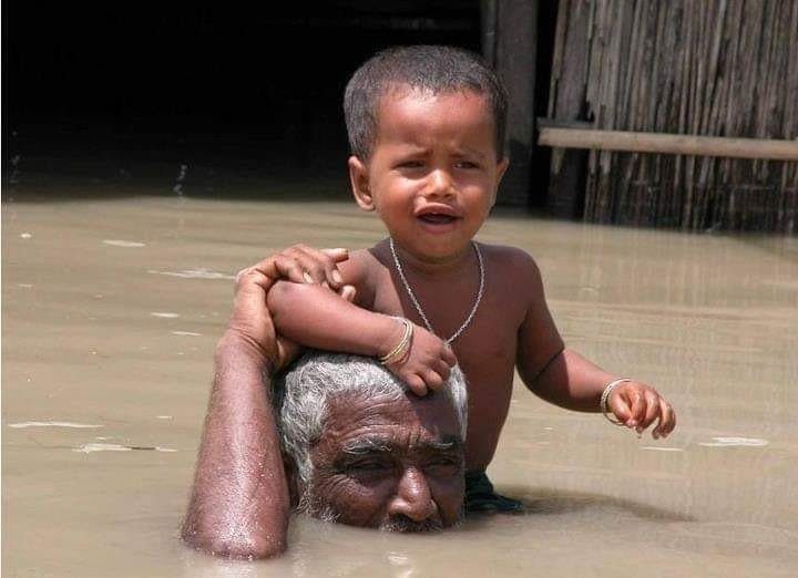 Save life of flood victims in Nepal