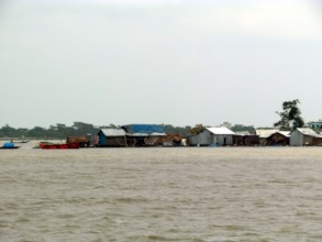 Village got flooded by Cyclone Amphan