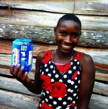 Washable  menstruation kits for 1600 girls