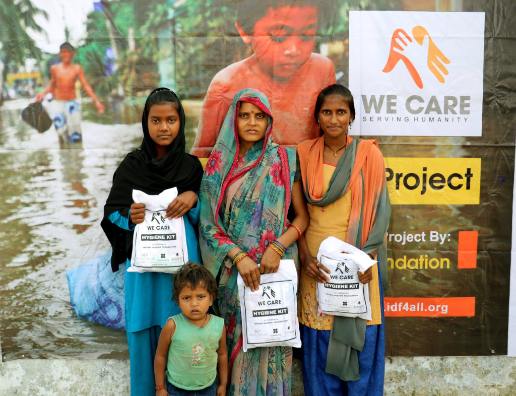 Hygiene Support for Flood- Affected Women in India
