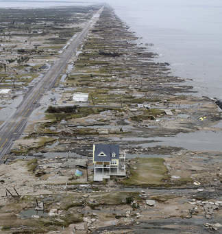 House 50 Hurricane Survivors in the FL Panhandle