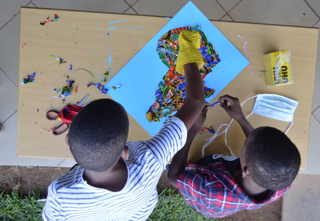 art space for 10,000 children and youth in Kigali