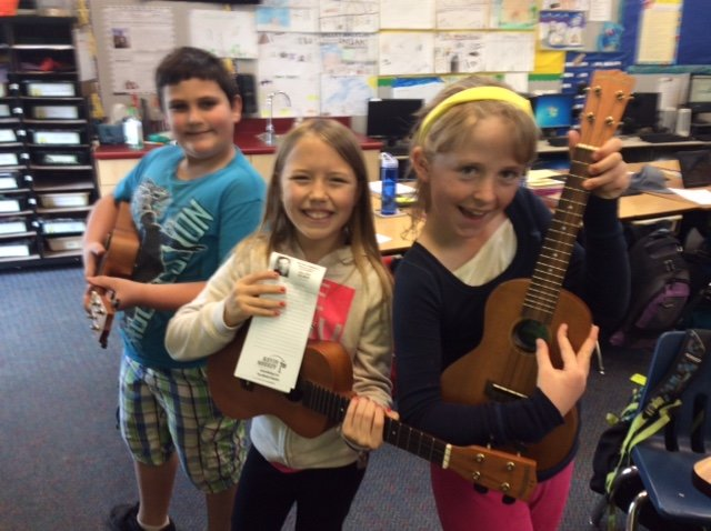 "Support K-5 Hands-On Music with ""Uke Can Do It!"""