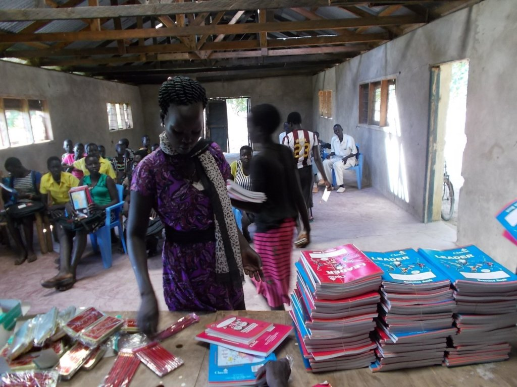 USD 10 educates a child for a year in South Sudan
