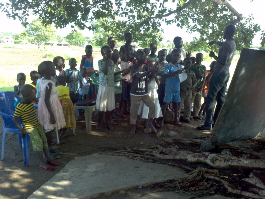 Taking WASH to rural Tiar-aliet in South Sudan