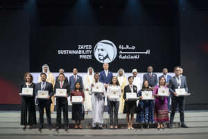 Zayed Sustainability Award Ceremony in Dubai