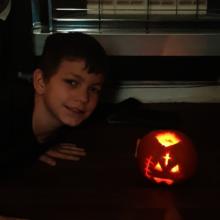Winner of the child entry - Kyle!