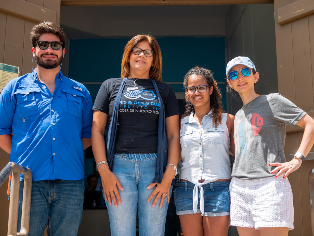 Long Term  Support for Survivors in Vieques