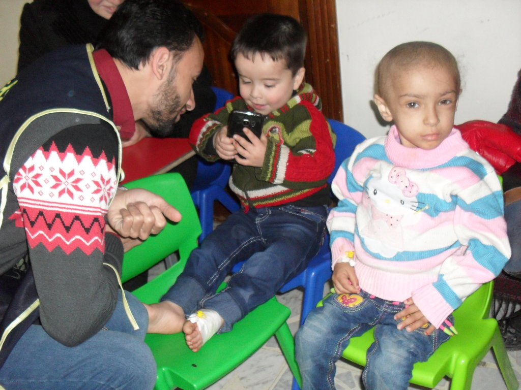Help Syrian Children with Cancer in Learning!