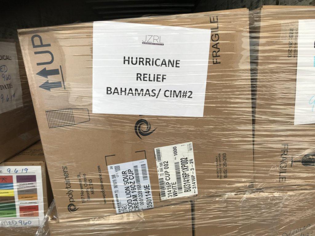 Hurricane Dorian Disaster Relief Bahamas - Jezreel