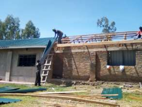 Rebuilding of the Destroyed Classrooms