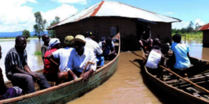 Flooding in PapOnditi Village