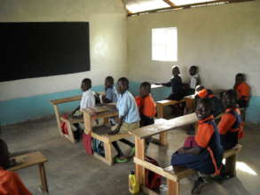 Pupils in their class