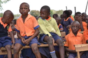 Kids In the school compound