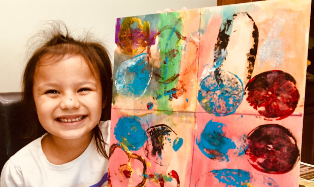 Provide Adaptive Art for a Child with Disabilities