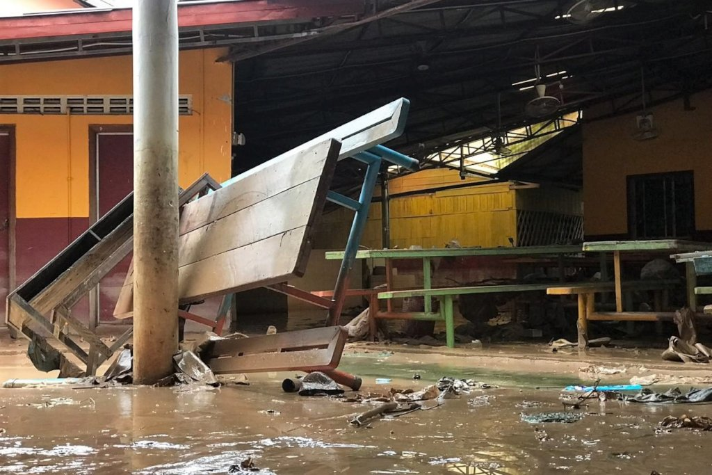Flood Damage at M'Lop Tapang