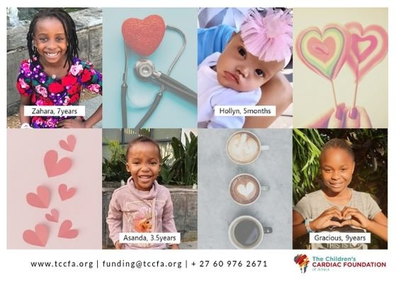 Heart Surgery for 100 Children in South Africa