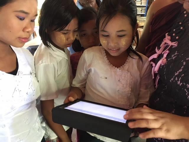 Support education in Myanmar