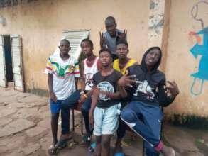 ACFA-Mali boys